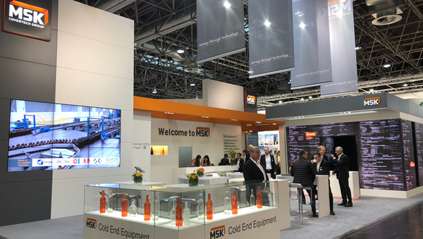 MSK Booth Glasstec 2018