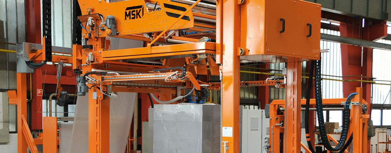 MSK Shrink wrap machines - automated packaging for building